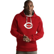 Antigua Men's Cincinnati Reds Red Victory Pullover