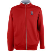 Antigua Men's Boston Red Sox Leader Red Full-Zip Jacket