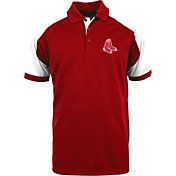 Antigua Men's Boston Red Sox Century Red/White Polo