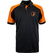 Antigua Men's Baltimore Orioles Century Black/Orange Polo