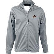 Antigua Men's Baltimore Orioles Full-Zip Silver Golf Jacket