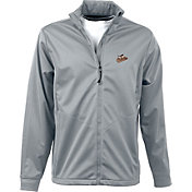 Antigua Men's Baltimore Orioles Full-Zip Silver Golf Jacket