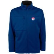 Antigua Men's Texas Rangers Royal Traverse Fleece Jacket