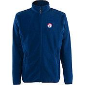 Antigua Men's Texas Rangers Full-Zip Royals Ice Jacket