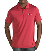 Antigua Men's Boston Red Sox Red Quest Performance Polo