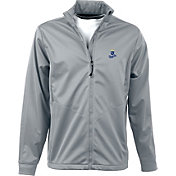 Antigua Men's Kansas City Royals Full-Zip Silver Golf Jacket