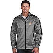 Antigua Men's Houston Astros Grey Golf Jacket