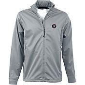 Antigua Men's Houston Astros Full-Zip Silver Golf Jacket