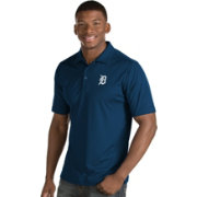 Antigua Men's Detroit Tigers Navy Inspire Performance Polo