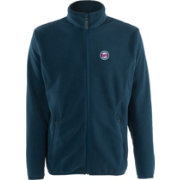Antigua Men's Minnesota Twins Full-Zip Navy Ice Jacket