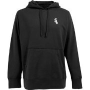 Antigua Men's Chicago White Sox Black Signature Hoodie