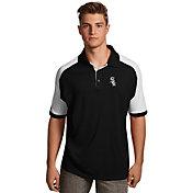 Antigua Men's Chicago White Sox Century Black/White Polo