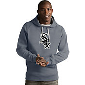 Antigua Men's Chicago White Sox Grey Victory Pullover