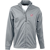 Antigua Men's New York Yankees Full-Zip Silver Golf Jacket