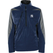 Antigua Men's New York Yankees Pullover Navy Discover Jacket