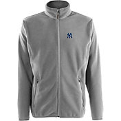 Antigua Men's New York Yankees Full-Zip Silver Ice Jacket