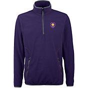 Antigua Men's Orlando City Ice Purple Quarter-Zip Fleece Jacket