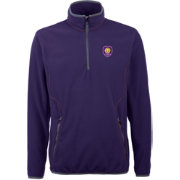 Antigua Men's Orlando City Ice Purple Quarter-Zip Fleece Jacket