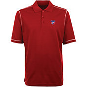 Antigua Men's FC Dallas Icon Red Polo