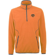 Antigua Men's Houston Dynamo Ice Orange Quarter-Zip Fleece Jacket