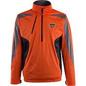 Antigua Men's Houston Dynamo Orange Discover Full-Zip Jacket