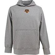 Antigua Men's Houston Dynamo Signature Heathered Grey Hoodie