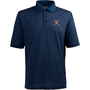Antigua Men's Chicago Fire Xtra-Lite Pique Performance Navy Polo