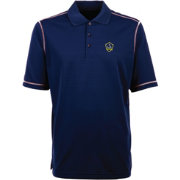 Antigua Men's Los Angeles Galaxy Icon Navy Polo
