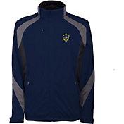 Antigua Men's Los Angeles Galaxy Tempest Navy Full-Zip Jacket