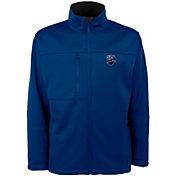 Antigua Men's Montreal Impact Traverse Royal Soft-Shell Full-Zip Jacket