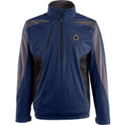 Antigua Men's Philadelphia Union Navy Discover Full-Zip Jacket