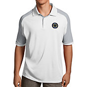 Antigua Men's Philadelphia Union Century White Polo