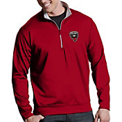 Antigua Men's DC United Leader Quarter-Zip Pullover