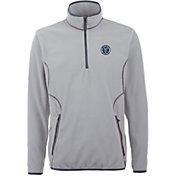 Antigua Men's New York City FC Ice Silver Quarter-Zip Fleece Jacket