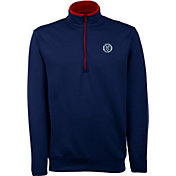 Antigua Men's New York City FC Leader Navy Quarter-Zip Jacket