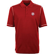 Antigua Men's New York Red Bulls Icon Red Polo