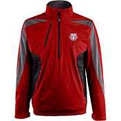 Antigua Men's New York Red Bulls Red Discover Full-Zip Jacket