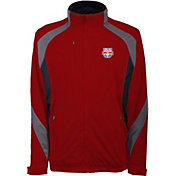 Antigua Men's New York Red Bulls Tempest Red Full-Zip Jacket