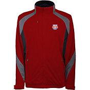 Antigua Men's New York Red Bulls Tempest Red Full-Zip Jacket