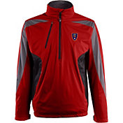 Antigua Men's Real Salt Lake Red Discover Full-Zip Jacket
