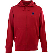 Antigua Men's Real Salt Lake Signature Heathered Full-Zip Hoodie