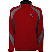 Antigua Men's Real Salt Lake Tempest Red Full-Zip Jacket