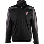 Antigua Men's Colorado Rapids Black Discover Full-Zip Jacket