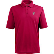 Antigua Men's Colorado Rapids Xtra-Lite Pique Performance Red Polo