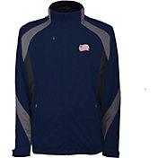 Antigua Men's New England Revolution Tempest Navy Full-Zip Jacket