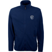Antigua Men's Sporting Kansas City Navy Ice Full-Zip Jacket
