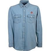Antigua Men's Toronto FC Chambray Long-Sleeve Shirt