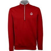 Antigua Men's Toronto FC Leader Red Quarter-Zip Jacket