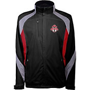 Antigua Men's Toronto FC Tempest Black Full-Zip Jacket