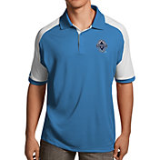 Antigua Men's Vancouver Whitecaps Black Century Polo